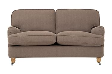HOWARD LUX 2-seters Sofa Brun