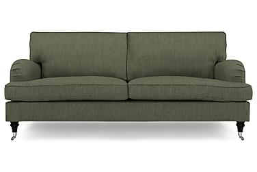 HOWARD 4-seter Sofa Olivengrønn