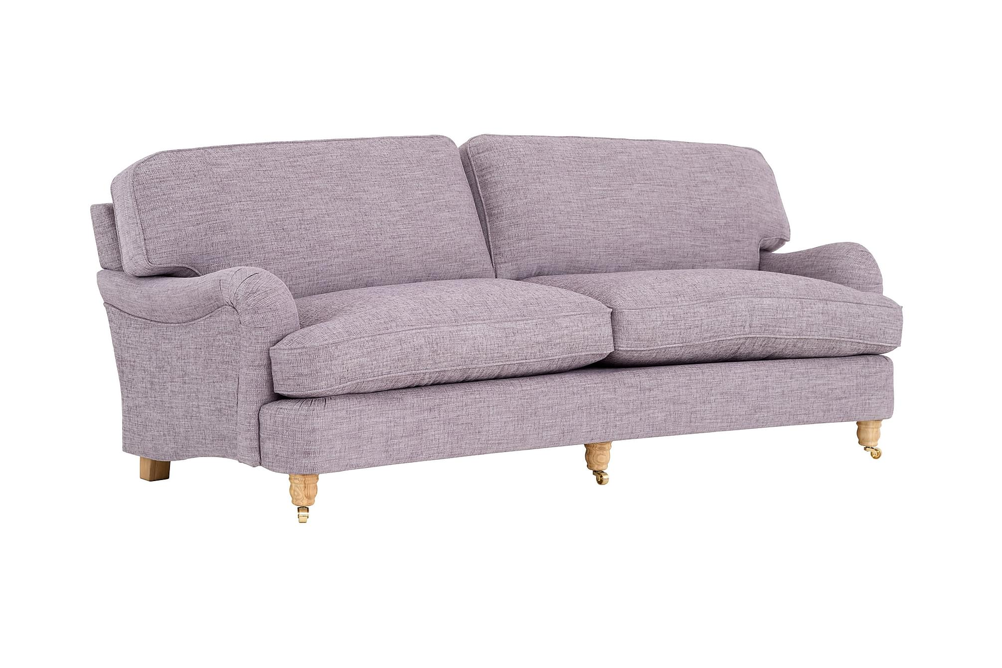 Howard deluxe 3 seter buet sofa lilla 3 seter sofa sofaer for Q furniture west kirby