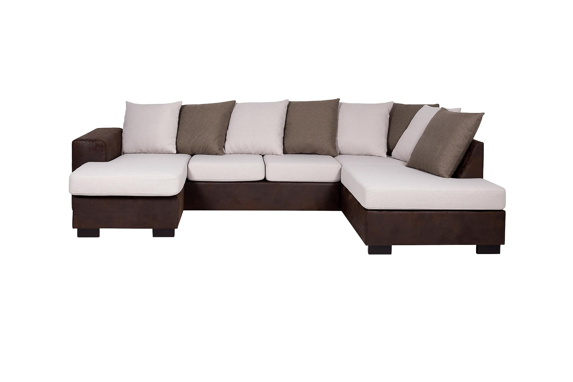 berlin large u sofa h yre beige divansofa sofaer. Black Bedroom Furniture Sets. Home Design Ideas