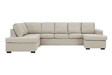 NEW YORK U-sofa XL Divan Høyre Beige