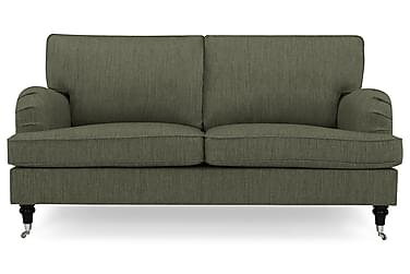 HOWARD 3-seters Sofa Olivengrønn