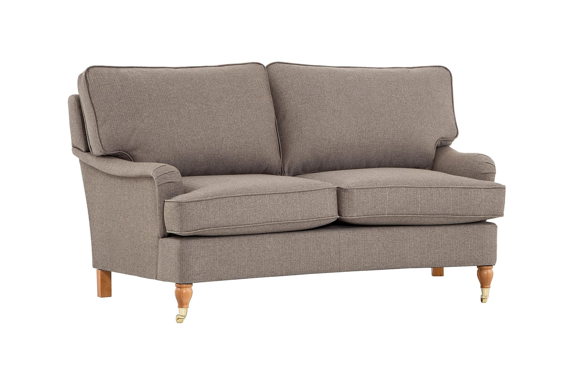 Howard classic 2 5 seters sofa buet arosa nougat howardsofa for Q furniture west kirby