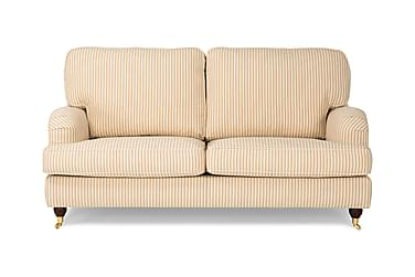 YARDLEY 2-seters Sofa Stripete Beige