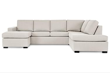 NEW YORK U-sofa Large Divan Venstre Beige
