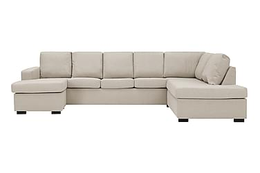 NEW YORK U-sofa XL Divan Venstre Beige